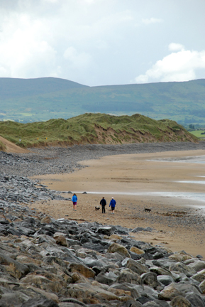 Beach Walkers, Sligo, Ireland